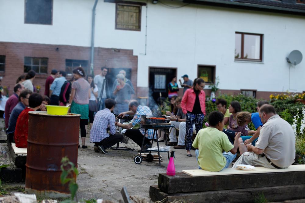 Ferienhaus Ferienwohnung Eifel Monschau Grillen