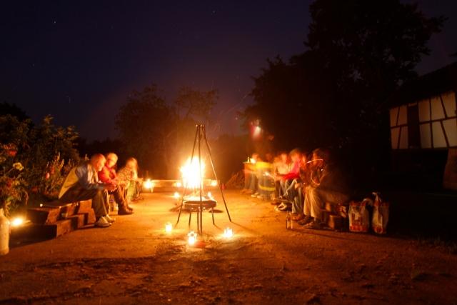 Ferienhaus Ferienwohnung Eifel Monschau Feuerstelle