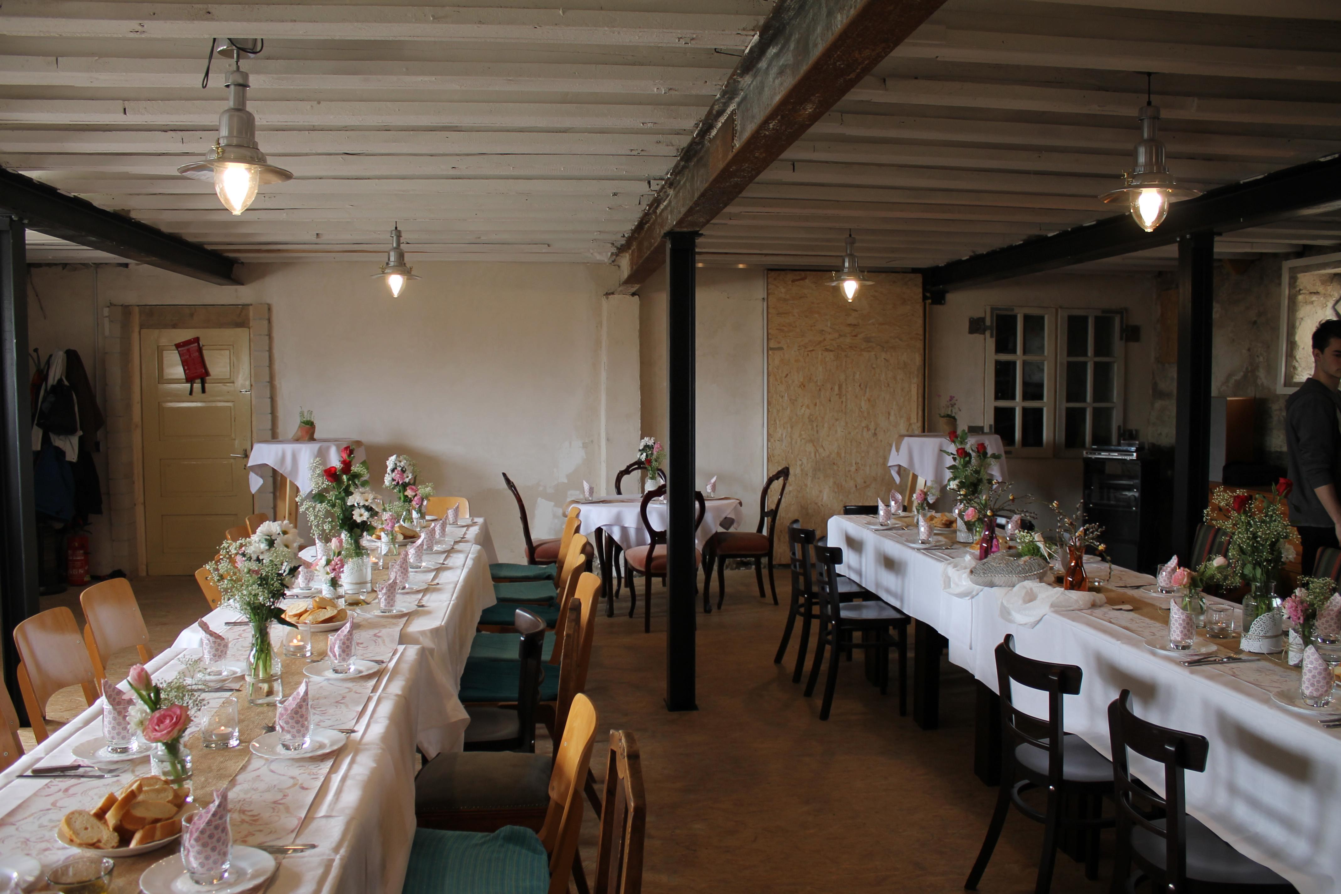 Ferienhaus Ferienwohnung Eifel Monschau private Feier Saal