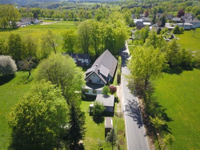 Ferienhaus Monschau Eifel Heydehof von oben Drone Foto